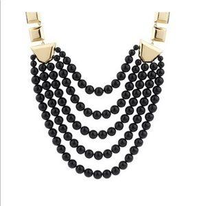 Luxe Rachel Zoe Geometric Link Beaded Necklace